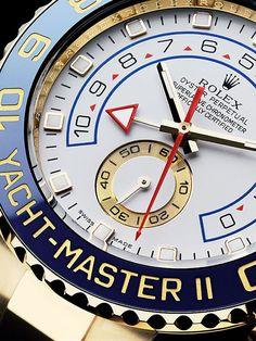 Rolex Yacht Master II | Gentleman's Watches | Pinterest