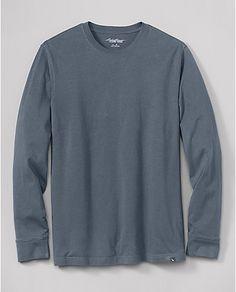 Classic Fit Long Sleeve Legend Wash T-Shirt | Eddie Bauer   (sleep wear)