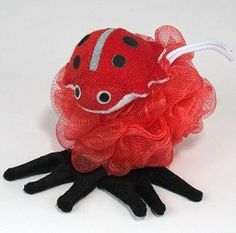 Kingsley Nylon Mesh Scrubber with Terry Lady Bug Sponge by Kingsley. $3.39. Ladybug design.. Terry Covered Sponge.. Terry Covered Sponge. Ladybug design.