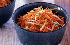 Морковно-имбирный салат