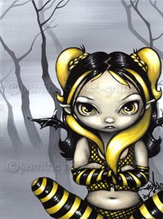 Jasmine Becket-griffith, paints some of the best Fairies... lots of attitude!