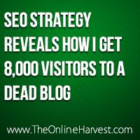 My SEO Strategy: What I Did To Get 8K Hits/Mo For Free!
