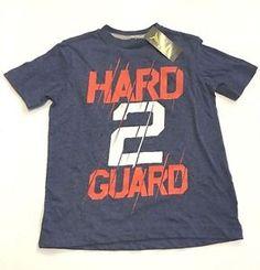 83fd4762b6180 Boys Active Tee Shirt Old Navy Athletic Hard 2 Guard Print