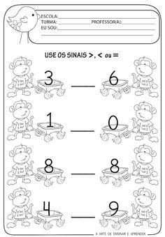Kids Math Worksheets, Math Activities, Arabic Alphabet Letters, File Folder Activities, Math For Kids, Study Materials, Head Start, Kindergarten Math, Math Lessons