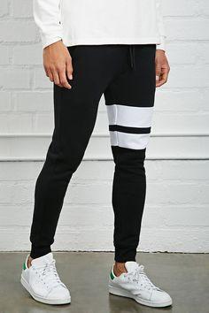 Varsity-Stripe Sweatpants
