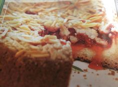 Yum... Id Pinch That! | Cherry Cream Cheese Coffee Cake by Rose