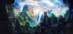 Temple City by ~Ateo88 on deviantART