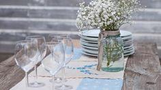 Vicky's Home: Diy camino de mesa Vintage/ Make an Heirloom Table Runner