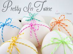 Are you ready to decorate some eggs? Let's get crafty people! Easter colors and crafts are my favorite. This quick and easy DIY tutorial is ...