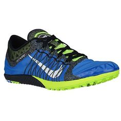 1b9007fa6f20 Nike Zoom Victory XC Cross Country Distance Spikes Mens Size Blue Volt  Black Womens 9     Learn more by visiting the image link.