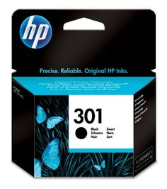 HP Black Ink Cartridge 301 - HP 301 Print cartridge 1 x black 190 pages CH561EEUUS Consumables Ink and Toner Cartridges  - http://ink-cartridges-ireland.com/hp-black-ink-cartridge-301/ - 301, black, cartridge, HP, Ink