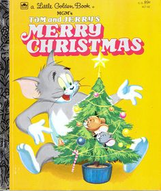 Little Golden Book: Tom and Jerry's Merry Christmas