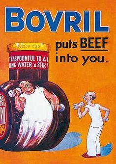 vintage food advertisements