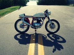 Honda CB200T Cafe Racer by Bare Bone Rides