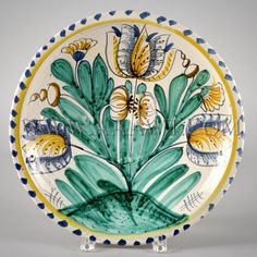 843-63_Blue Dash Delft Tulip Charger_1.jpg (450×450)