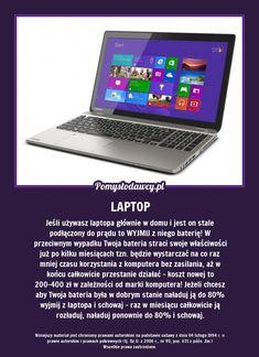 PONAD 80% LUDZI KORZYSTAJĄC Z LAPTOPA TAK ROBI A TO KOSZTOWNY BŁĄD! Everything, Life Hacks, Laptop, Dom, Tips, Laptops, Lifehacks, Counseling