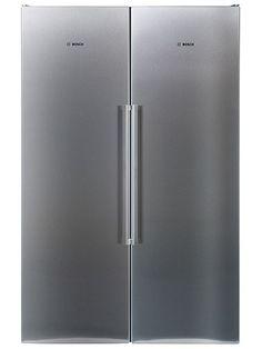 Bild på Bosch KSV36MI41 / GSN36MI31 Bosch, French Door Refrigerator, French Doors, Kitchen Appliances, Pictures, Diy Kitchen Appliances, Home Appliances, Appliances, Kitchen Gadgets