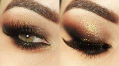 Tutorial – maquiagem com olho esfumado na diagonal
