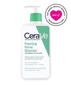 Best Face Cleanser No. 16: CeraVe Foaming Facial Cleanser, $12.99