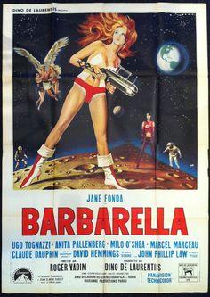 The Golden Years, Golden Age, Anita Pallenberg, Jane Fonda, Barbarella, Illustration Art, Illustrations, Old Hollywood, Comic Art