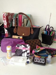 What's in my bag today? by Beachgirrl, via Flickr