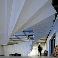 Move: Choreographing You exhibition design by Amanda Levete Architects 6 December 2010 Architecture Details, Interior Architecture, Interior And Exterior, Interior Design, Ceiling Design, Wall Design, Set Design, Amanda Levete, Hayward Gallery