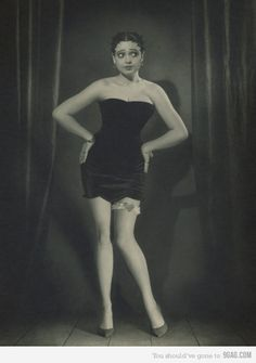 Betty Boop? She is a spot on portrayal.  (PS If you know who this really is, spill it! I can't tell if this is vintage or modern)