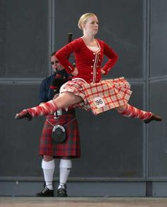 Highland dancing to be performed in the ceremony. This is a traditional dance that signifies the historical and tradition form of entertainment in Scotland.