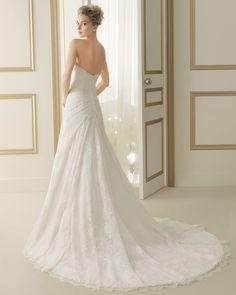 169 ETHAN | Wedding Dresses | 2014 Collection | Luna Novias (back)