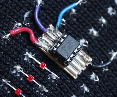Make Your Own E-Textile Arduino Board on Instructables. eTextiles, and craft tech.  (july 2014)