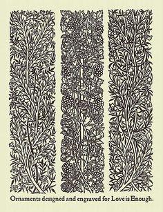 William Morris borders