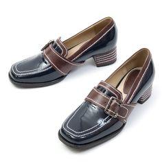 ITPO loafer_Cos'Stripe&Rectangle Belt Loafer (Blue)