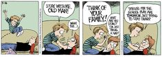 """03/16/13 """"Daddy's Home"""" Comic & Question: Favorite place to nap?  http://www.facebook.com/pages/Daddys-Home/175279239689?ref=ts"""
