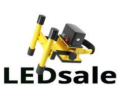 Kannettava Ladattava LED Valonheitin 10W - Kannettavat LED-Valonheittimet - LED Valonheittimet