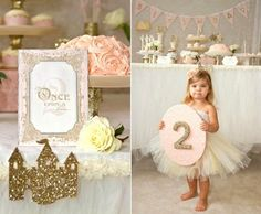 Once Upon a Time Fairytale Birthday Party ideas