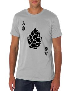 Ace of Hops  Craft Beer Homebrew T-Shirt  Beer by brewershirts