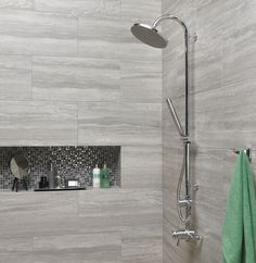 inverno grey marble effect rectified wall and floor tile bath