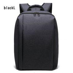 2016 Men's Backpack Black Nylon TIGERNU Waterproof Bag Backpack for Male Mochila 14.1 Inch Laptop Notebook Bag for Computer