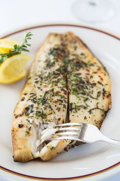 The fresh flavors of herbs and the mild pompano marry together perfectly, yielding a succulent, moist and delicate piece of fish.