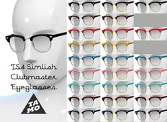 http://thesims-4.tumblr.com/post/118113366609/tamoky-i-uploaded-simlish-clubmaster-glasses