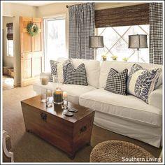 Decorating Ideas Made Easy Blog: Living Room Curtain Ideas