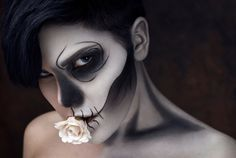 Halloween Makeup Classics Made Simple #Skeleton