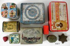 Los Mundos de Nika Vintage: Cajas de lata