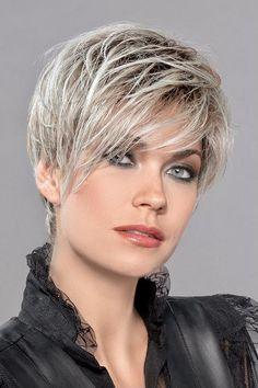 Short White Hair, Short Blonde, Short Hair Cuts, Short Hair Styles, Oil For Hair Loss, Stop Hair Loss, Short Hairstyles For Women, Cool Hairstyles, Castor Oil For Hair