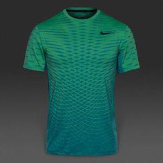 Camiseta Nike Ultimate Dry -Turquesa/Volt/Negro