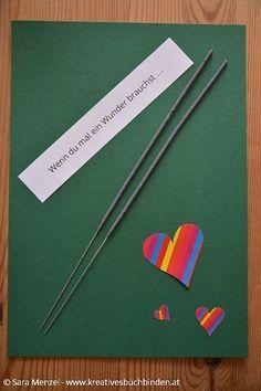 Wenn du mal ein Wunder brauchst ...  Wenn Buch Ideen   Bastelanleitung   Geschenkidee