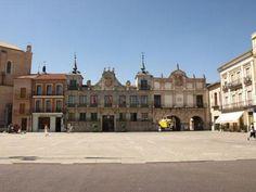 Plaza (plein) van Medina del Campo