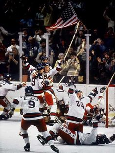 Miracle on Ice. The medal-round men's ice hockey game during the 1980 Winter Olympics at Lake Placid, New York, on Friday, February 22. The United States team, made up of amateur and collegiate players and led by coach Herb Brooks, defeated the Soviet team, who had won nearly every world championship and Olympic tournament since 1954. Team USA went on to win the gold medal by winning its last match over Finland. The Soviet Union took the silver medal by beating Sweden in its final game.