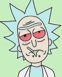 Rick And Morty Image, Rick I Morty, Iphone Wallpaper Rick And Morty, Cartoon Wallpaper Iphone, Small Canvas Art, Diy Canvas Art, Trippy Cartoon, Rick And Morty Drawing, Rick And Morty Poster