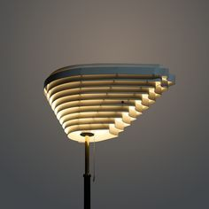 Alvar Aalto Angel Wing floor lamp, model 805